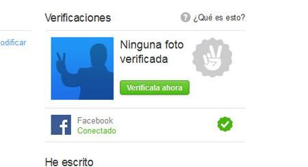 ¿Cómo verificar mi perfil en Twoo? 1